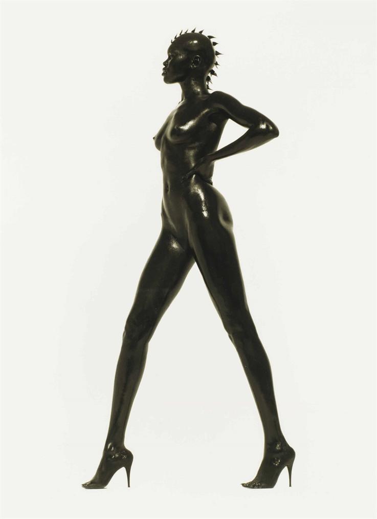 Herb Ritts-Alek Wek, Los Angeles-1998