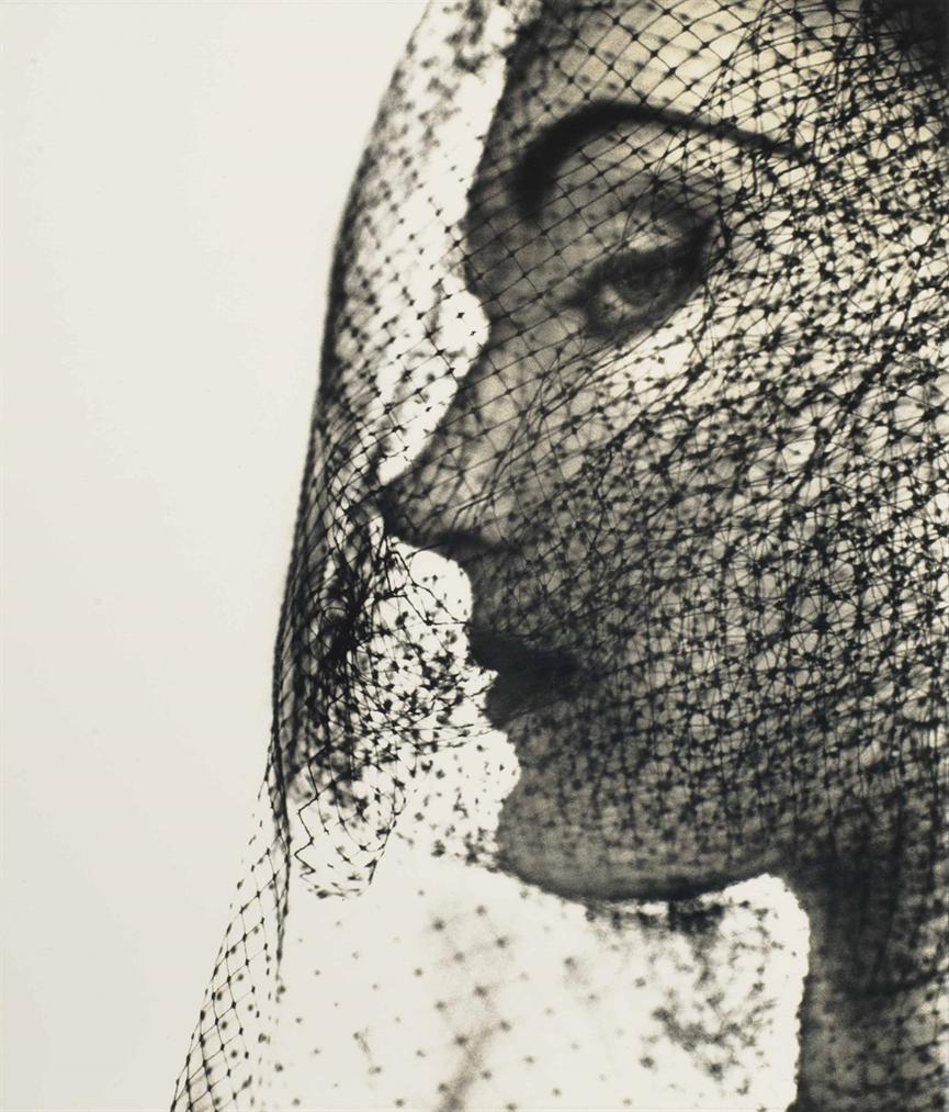 Irving Penn-Veiled Face (Evelyn Tripp)-1949
