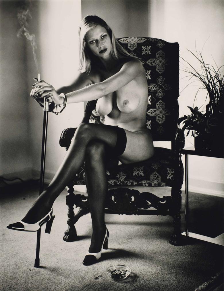Helmut Newton-Untitled, From Cyberwoman-2000
