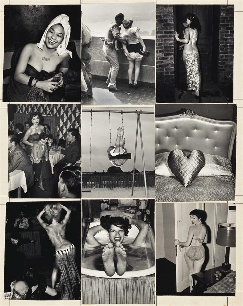 Weegee-Glamour Photography Maquette-1955