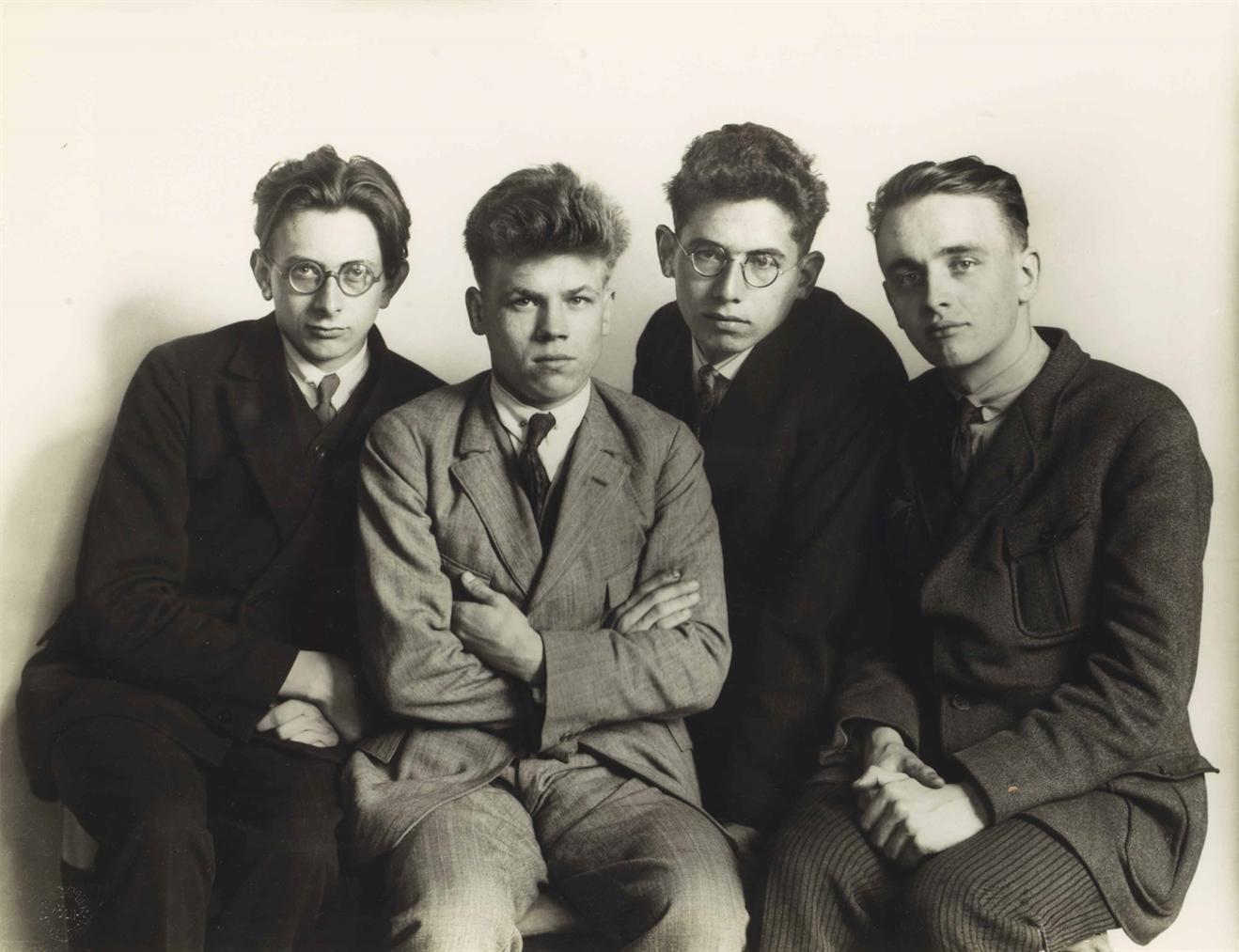 August Sander-Werkstudenten-1926