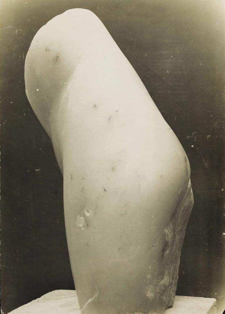 Constantin Brancu?I - Torse De Jeune Femme, Marbre-1909