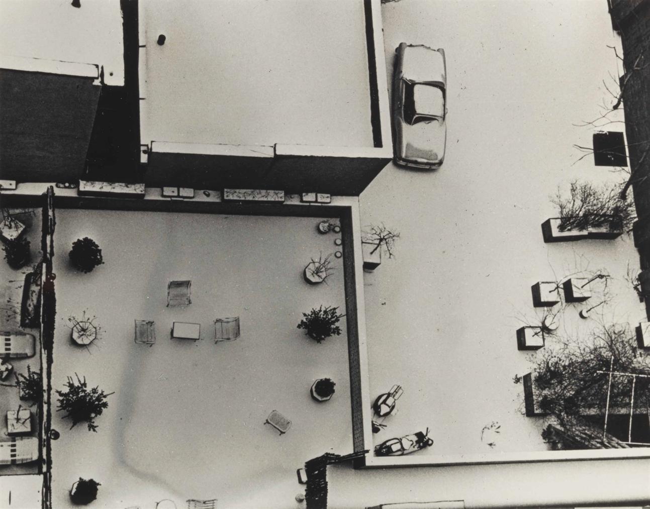 Andre Kertesz-Macdougal Alley, New York-1965