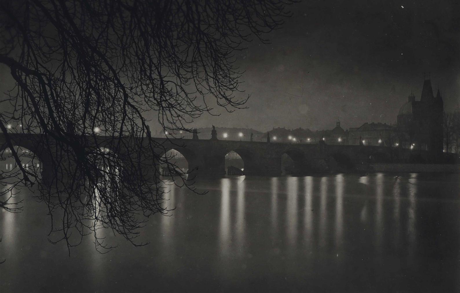 Josef Sudek-Charles Bridge, Prague-1950