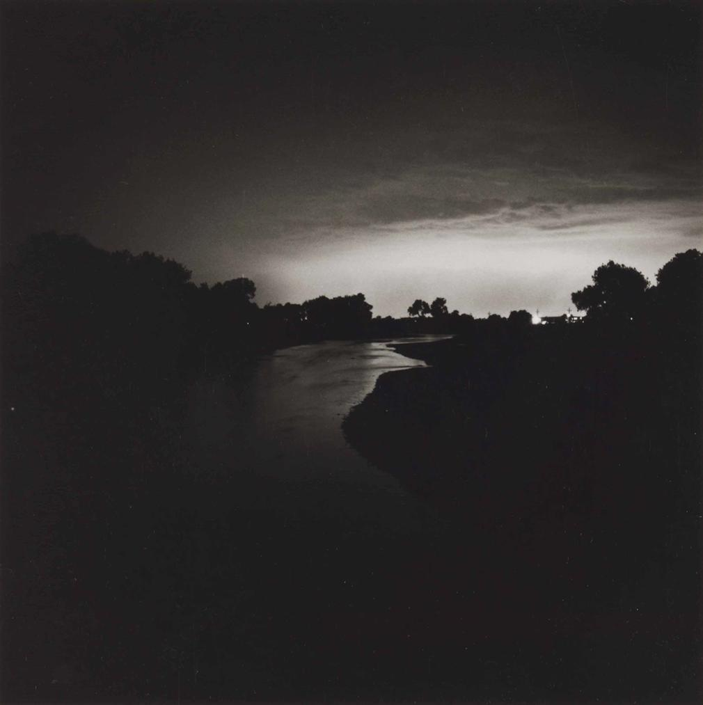 Robert Adams-The South Platte River, Looking Toward Denver, Colorado, Twenty-Five Miles Distant-1979