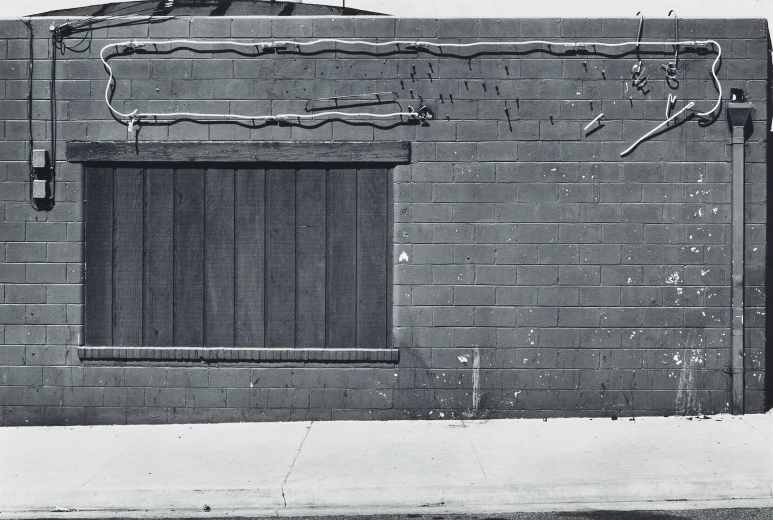 Lewis Baltz-Seaside, From The Prototype Works-1970