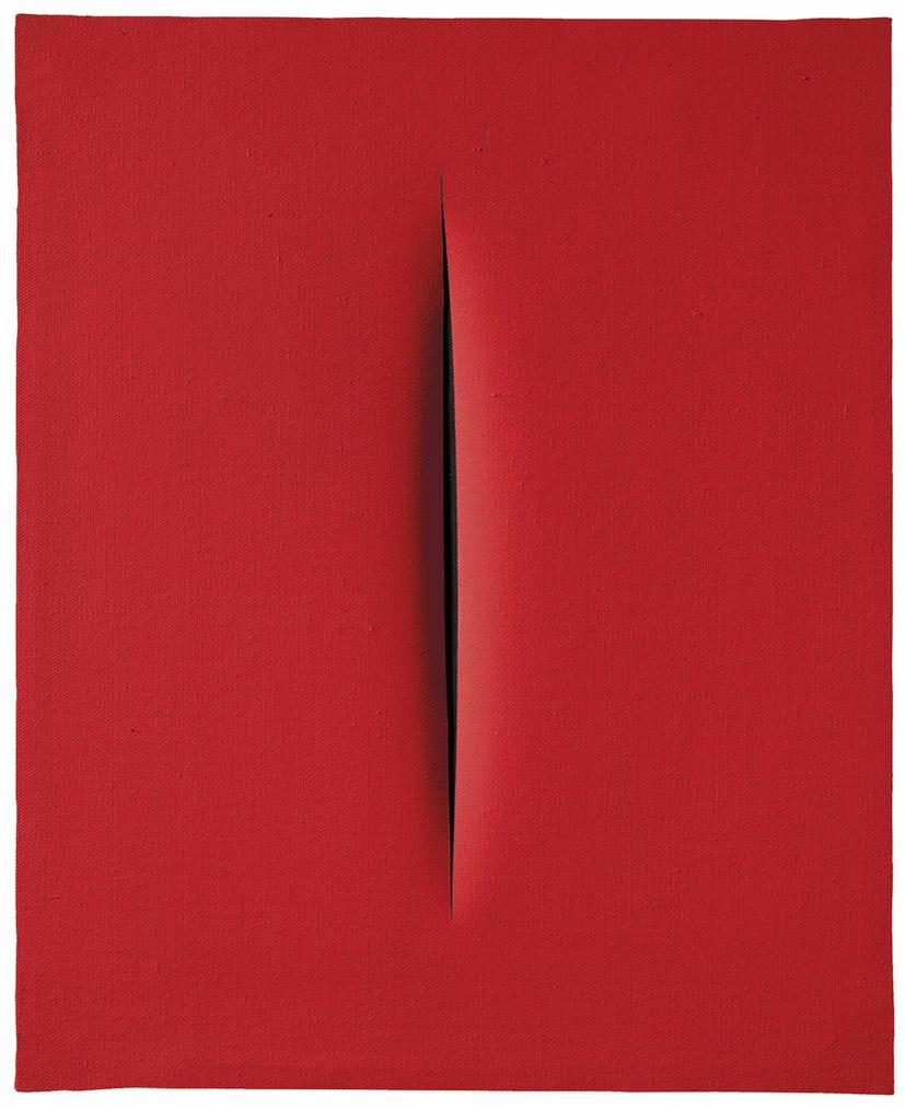 Lucio Fontana-Concetto Spaziale, [Attesa]-1967