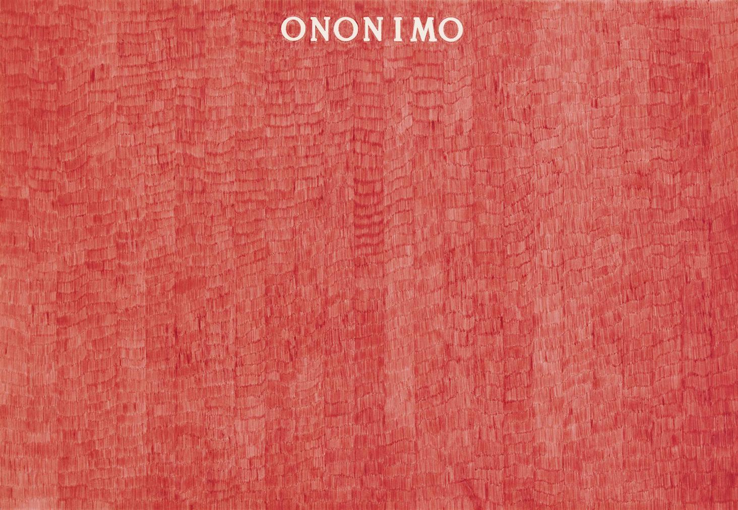 Alighiero Boetti-Ononimo-1974