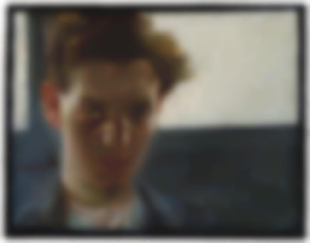 Umberto Boccioni-Ritratto Di Giovane-1906