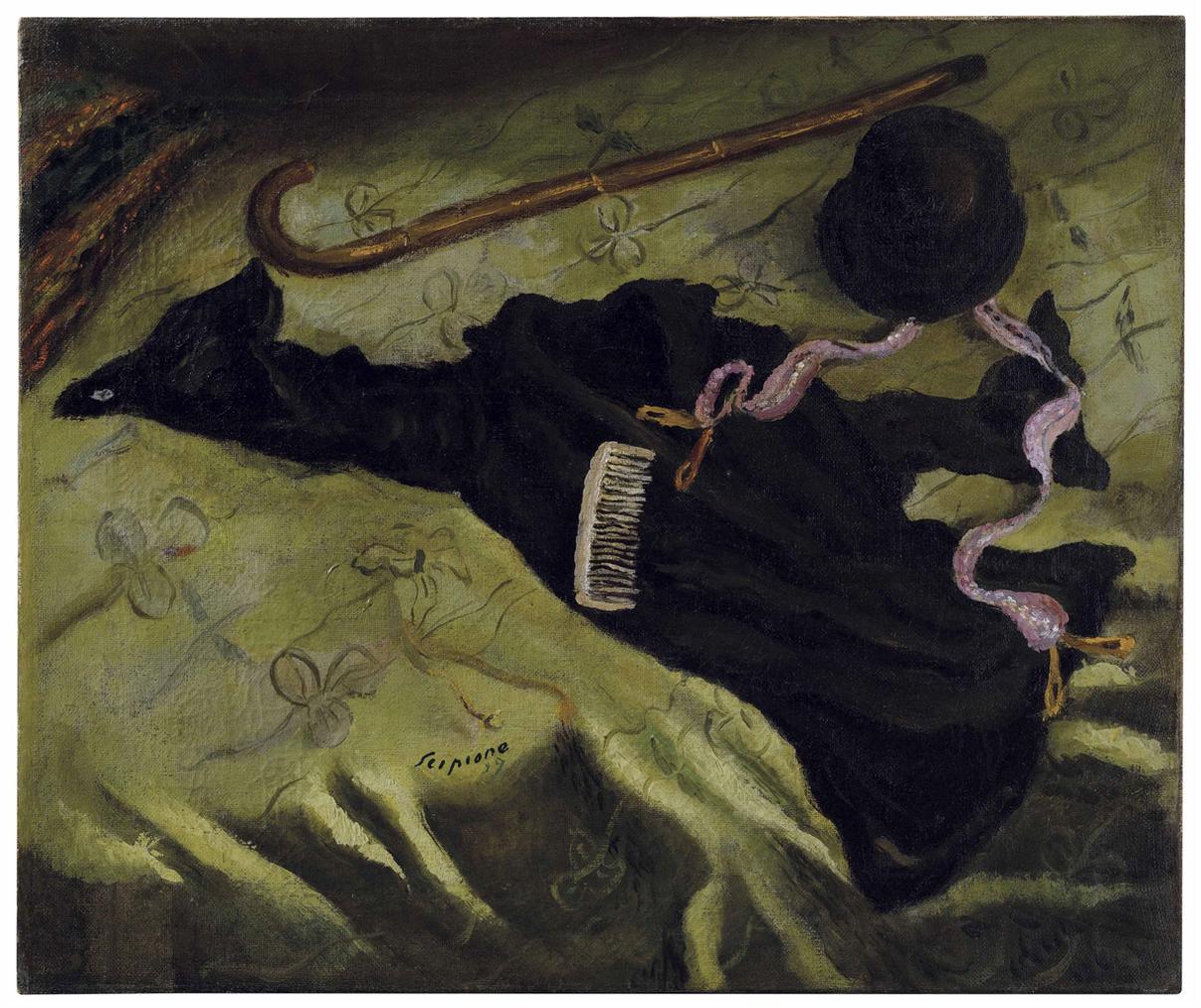 Scipione - Natura Morta Con Tubino-1929