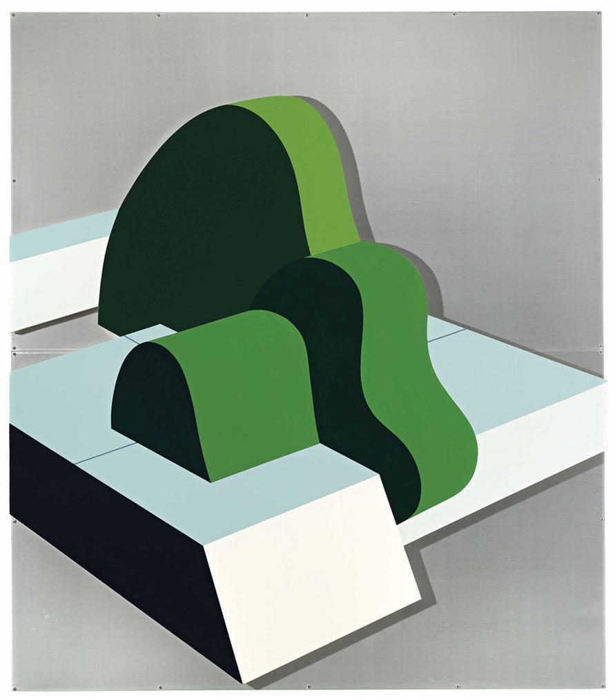Gianfranco Pardi-Giardino Pensile-1968