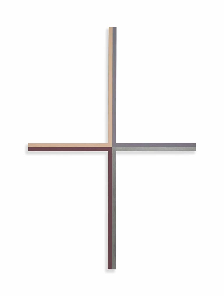 Gianni Piacentino-Four Colours Cross (B)-2013