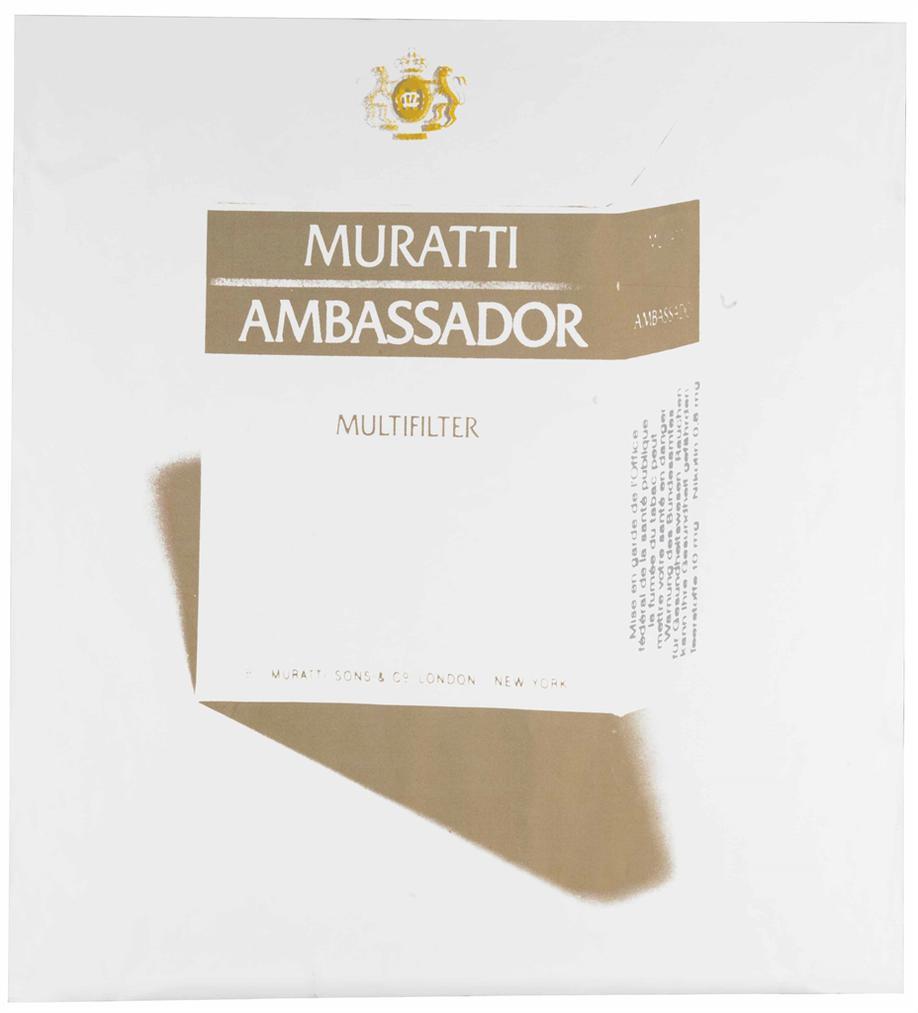 Andy Warhol-Muratti Ambassador Cigarettes-1984