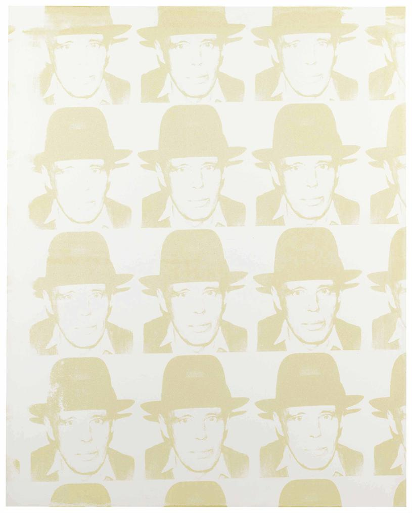 Andy Warhol-Joseph Beuys-1980