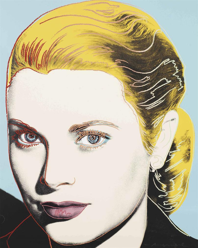 Andy Warhol-Grace Kelly-1984