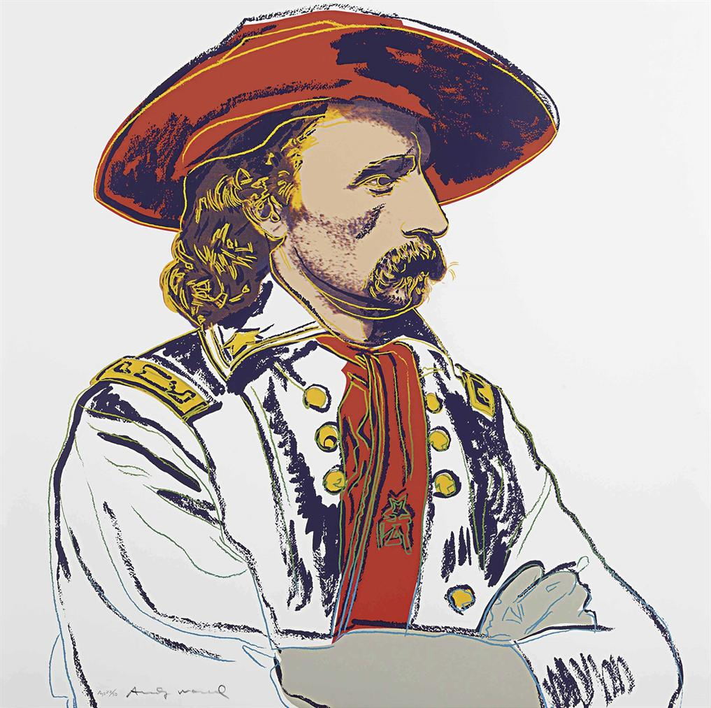 Andy Warhol-General Custer, From Cowboys And Indians-1986