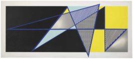 Roy Lichtenstein-Imperfect 44 3/4 X 103, From Imperfect Series-1988