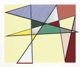 Roy Lichtenstein-Imperfect 67 X 79 7/8, From Imperfect Series-1988