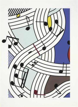 Roy Lichtenstein-Composition I-1996