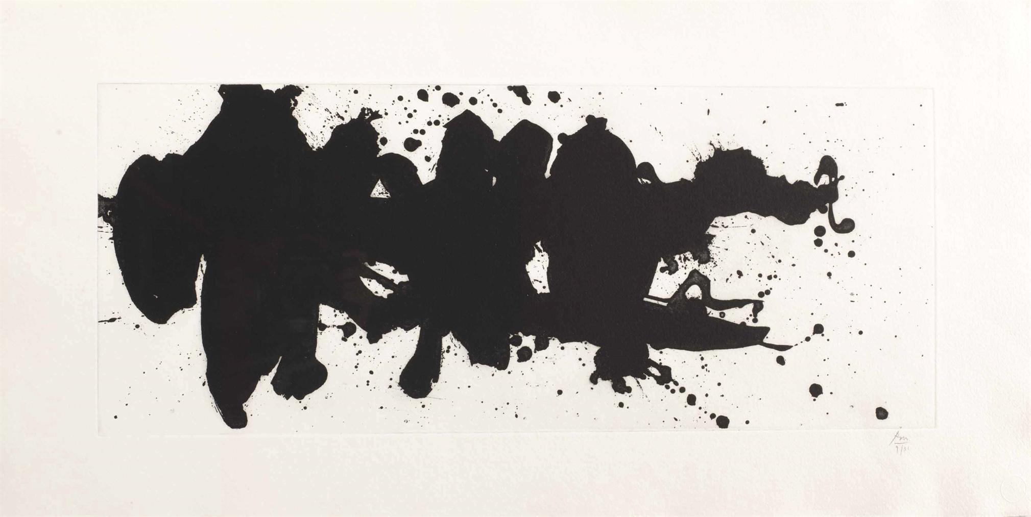 Robert Motherwell-Running Elegy-1983