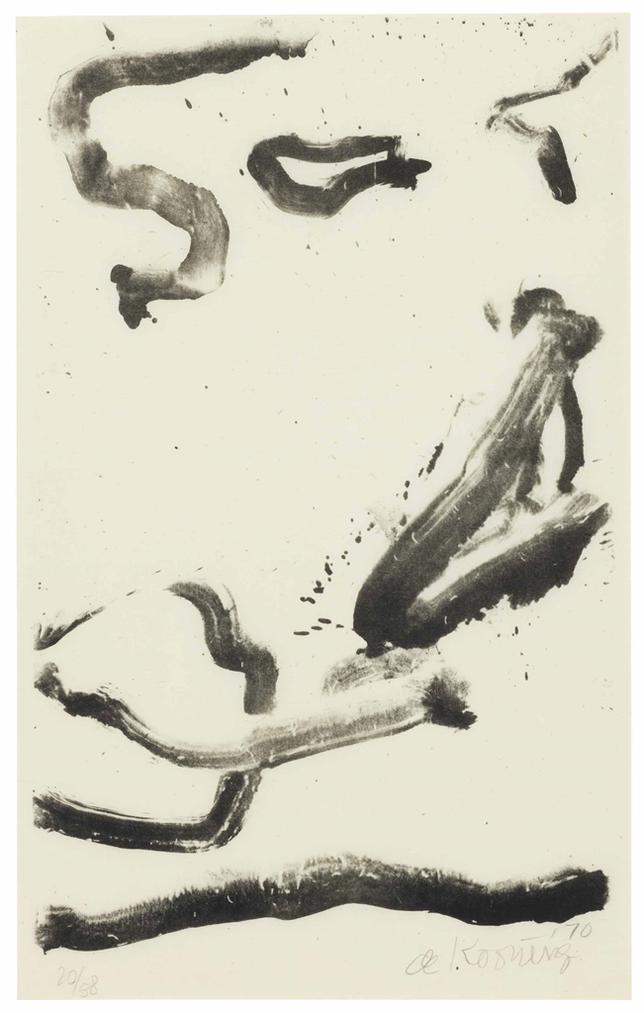 Willem de Kooning-Love To Wakako-1971