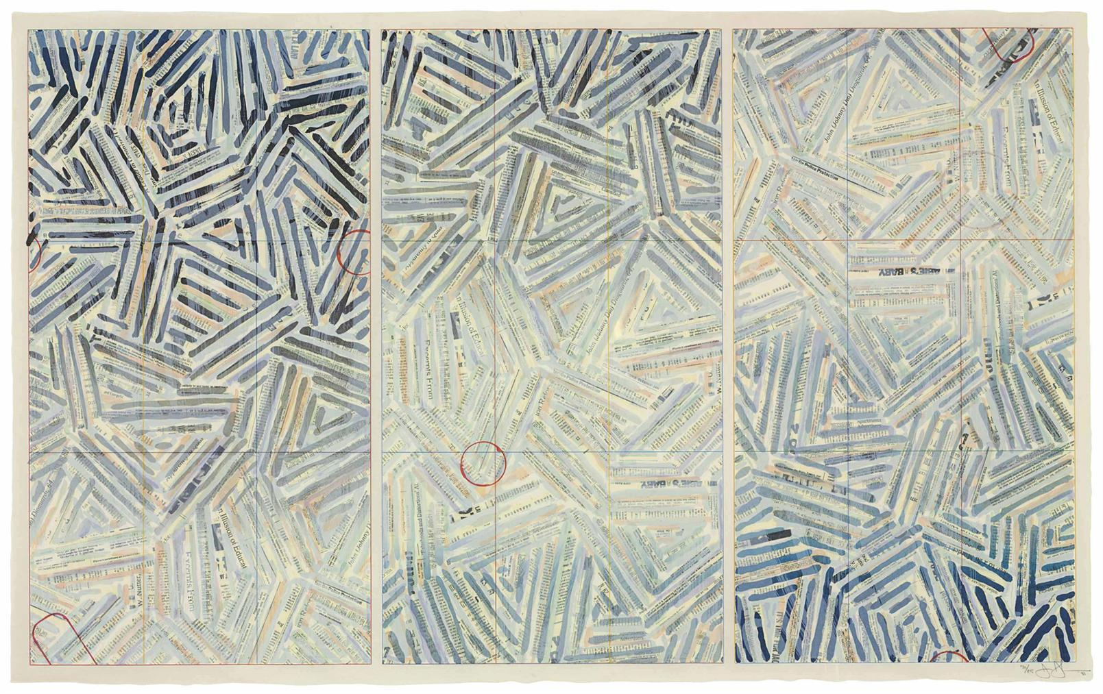 Jasper Johns-Usuyuki-1981