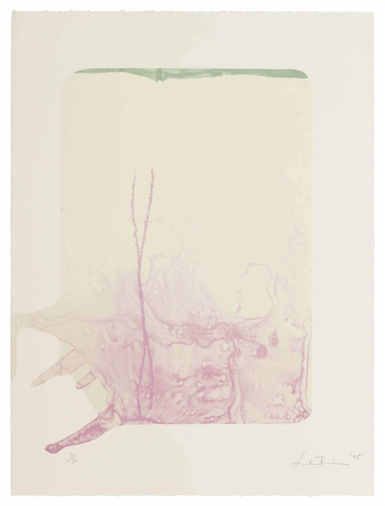 Helen Frankenthaler-Reflections XII, From Reflections Series-1995