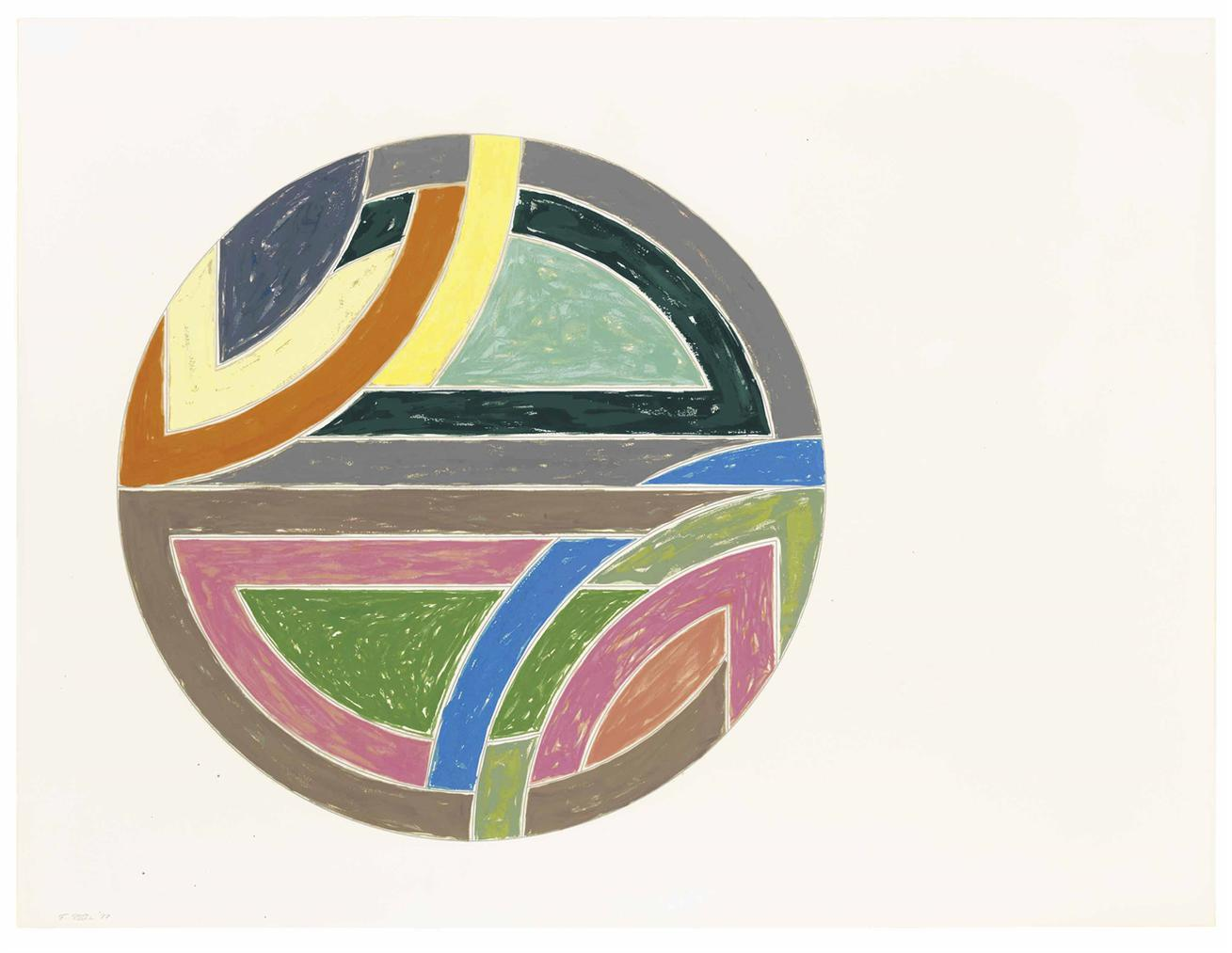Frank Stella-Untitled-1977