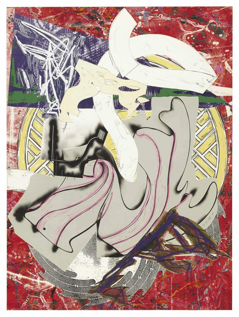 Frank Stella-Ahab, From The Waves-1988