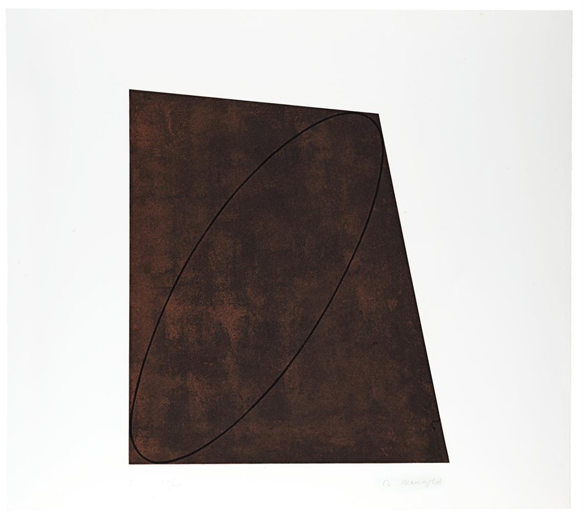 Robert Mangold-Attic Series I-IV-1991