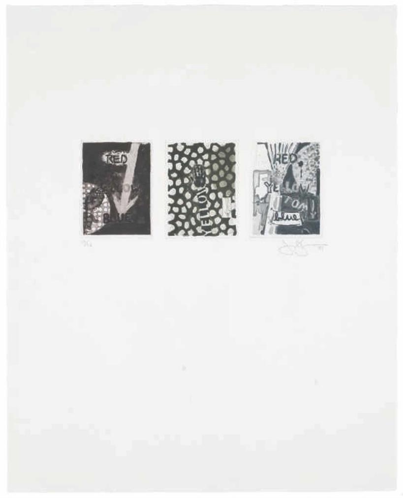 Jasper Johns-Untitled-1981