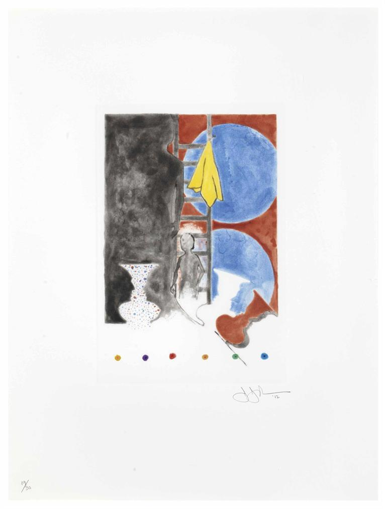 Jasper Johns-Untitled-2012