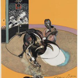 Francis Bacon-Miroir De La Tauromachie-1990