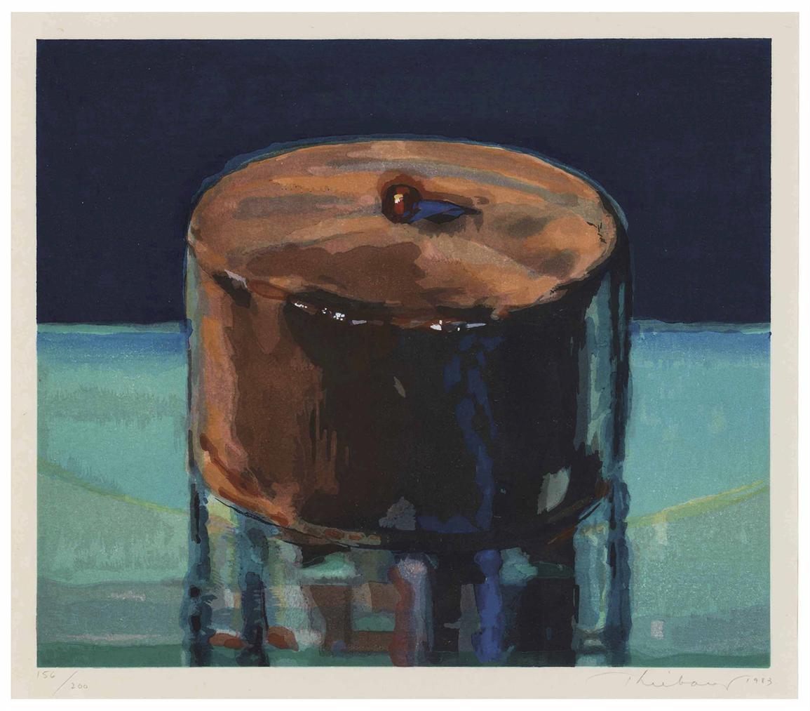 Wayne Thiebaud-Dark Cake-1983