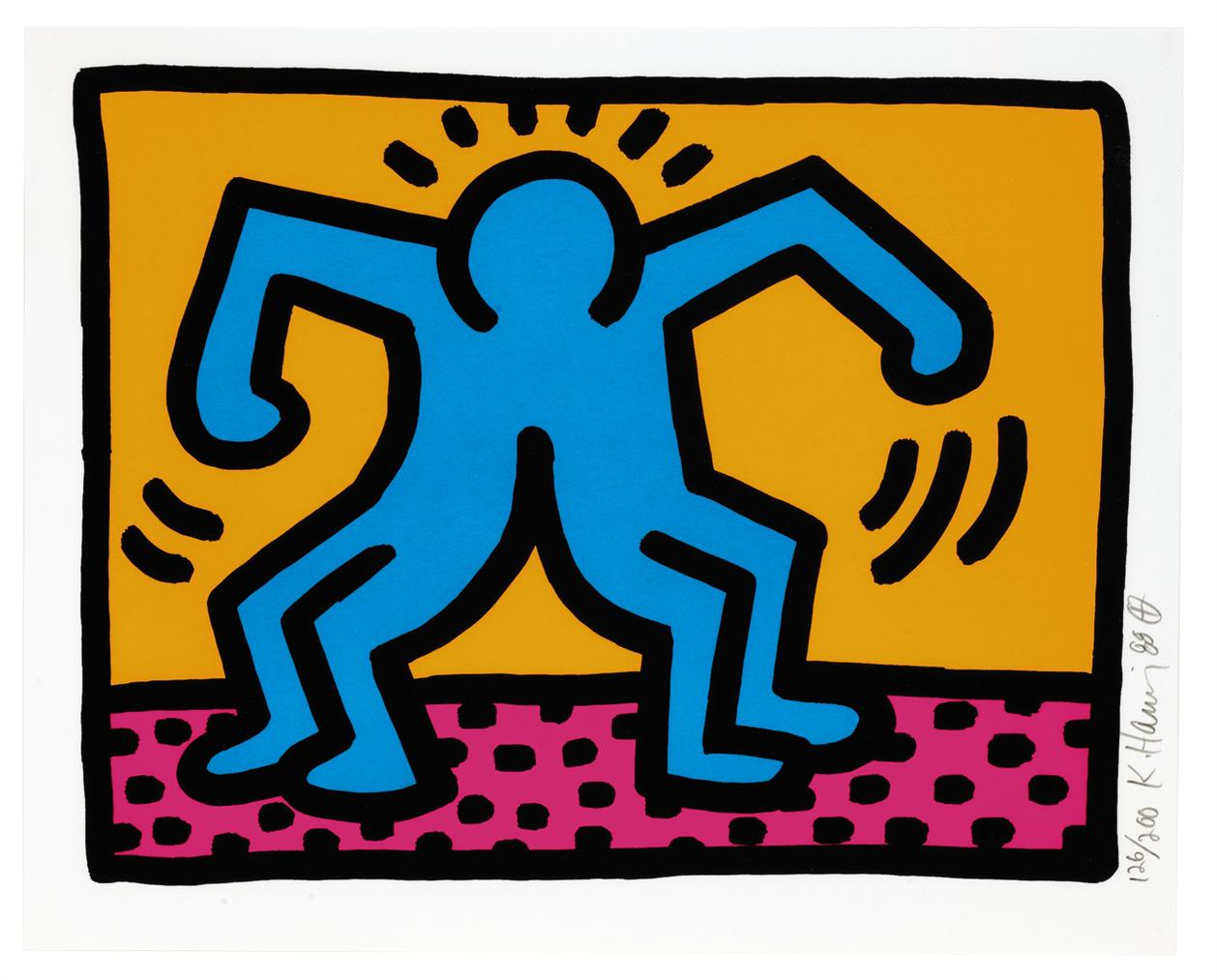 Keith Haring-Pop Shop II-1988