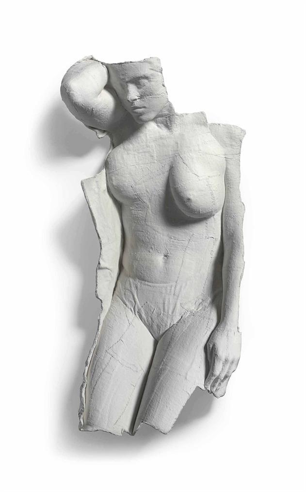 George Segal-Fragment: Figure VIII-1970