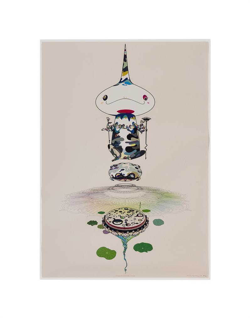 Takashi Murakami-Three Prints By The Artist-2009