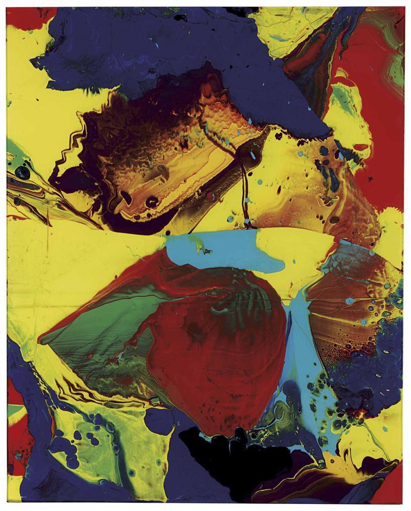 Gerhard Richter-Bagdad-2014