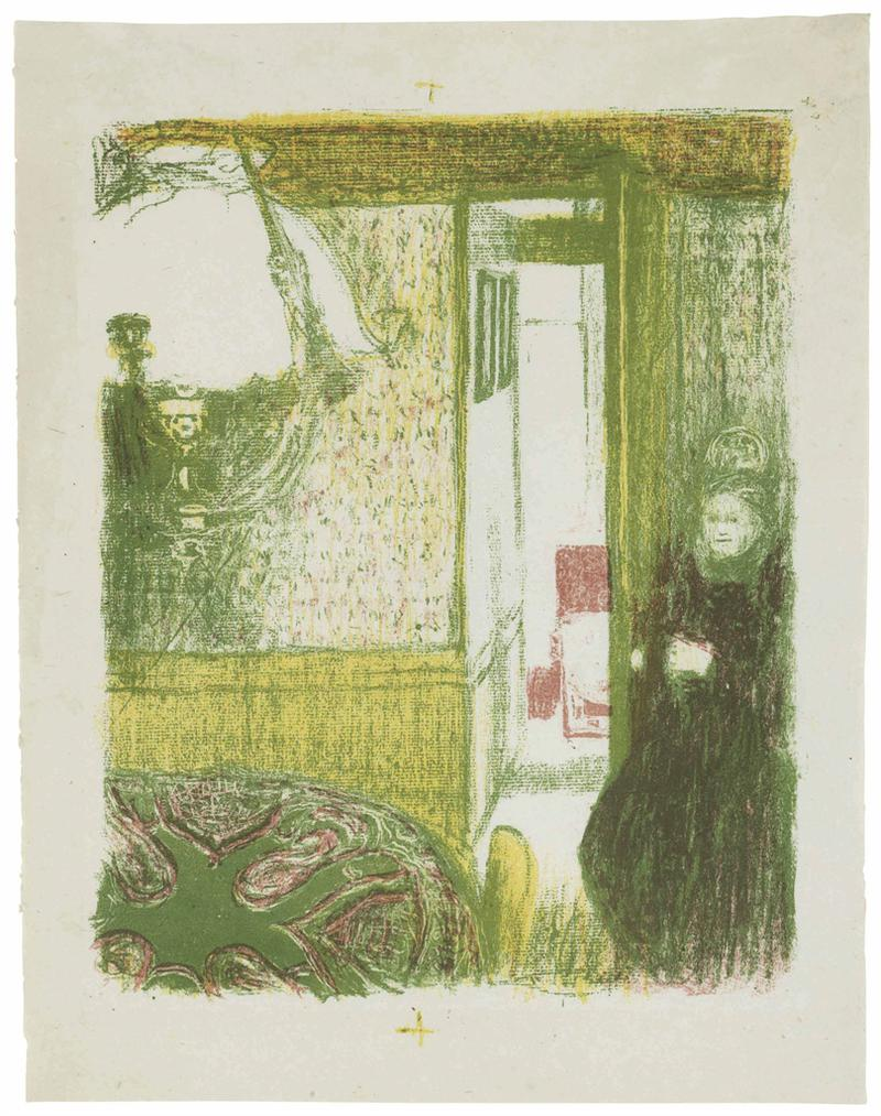 Edouard Vuillard-Interieur A La Suspension, From Paysages Et Interieurs-1899