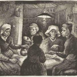 Vincent van Gogh-The Potato Eaters-1885