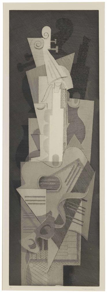 Louis Marcoussis-Musiques-1930