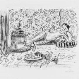 Henri Matisse-Odalisque, Brasero Et Coupe De Fruits-1929