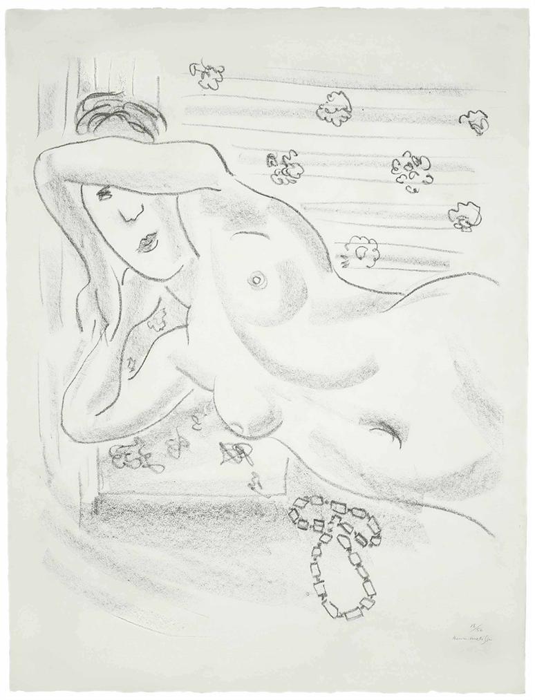 Henri Matisse-Torse Nu Au Collier Dambre-1929