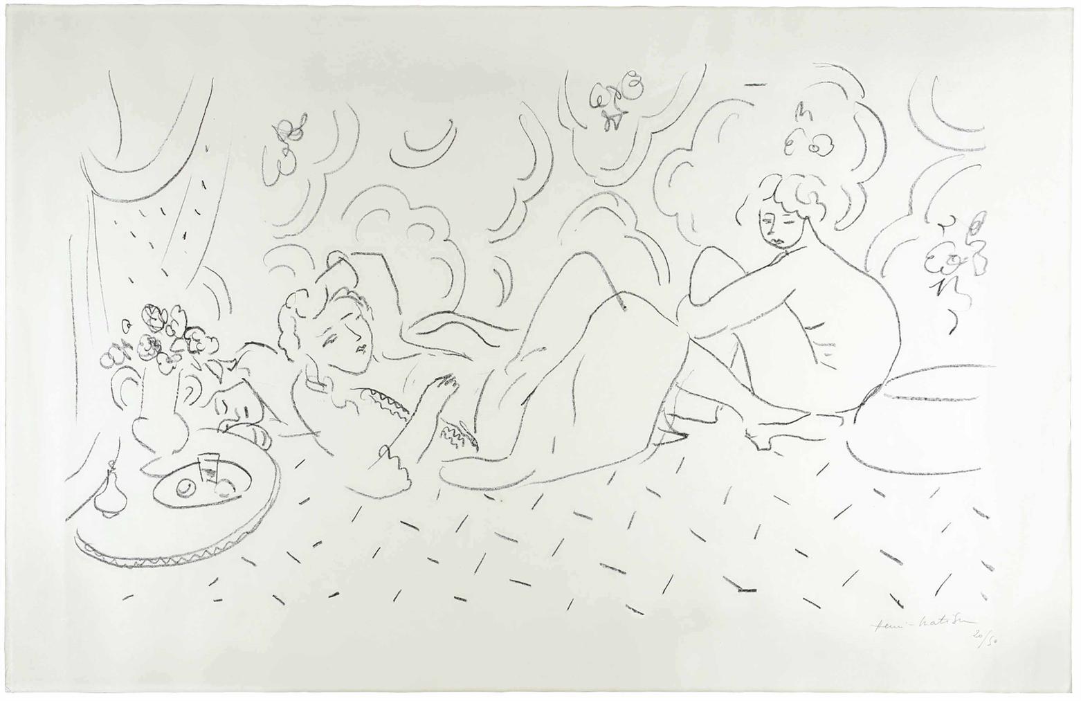 Henri Matisse-Les Trois Modeles-1928