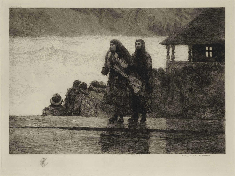 Winslow Homer-Perils Of The Sea-1888