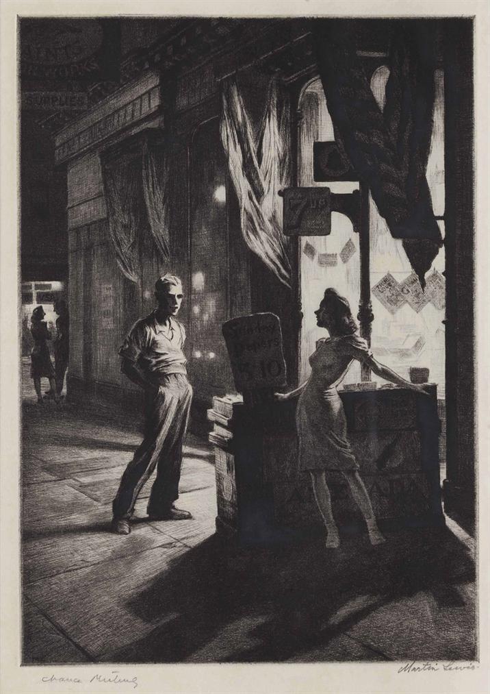Martin Lewis-Chance Meeting-1941
