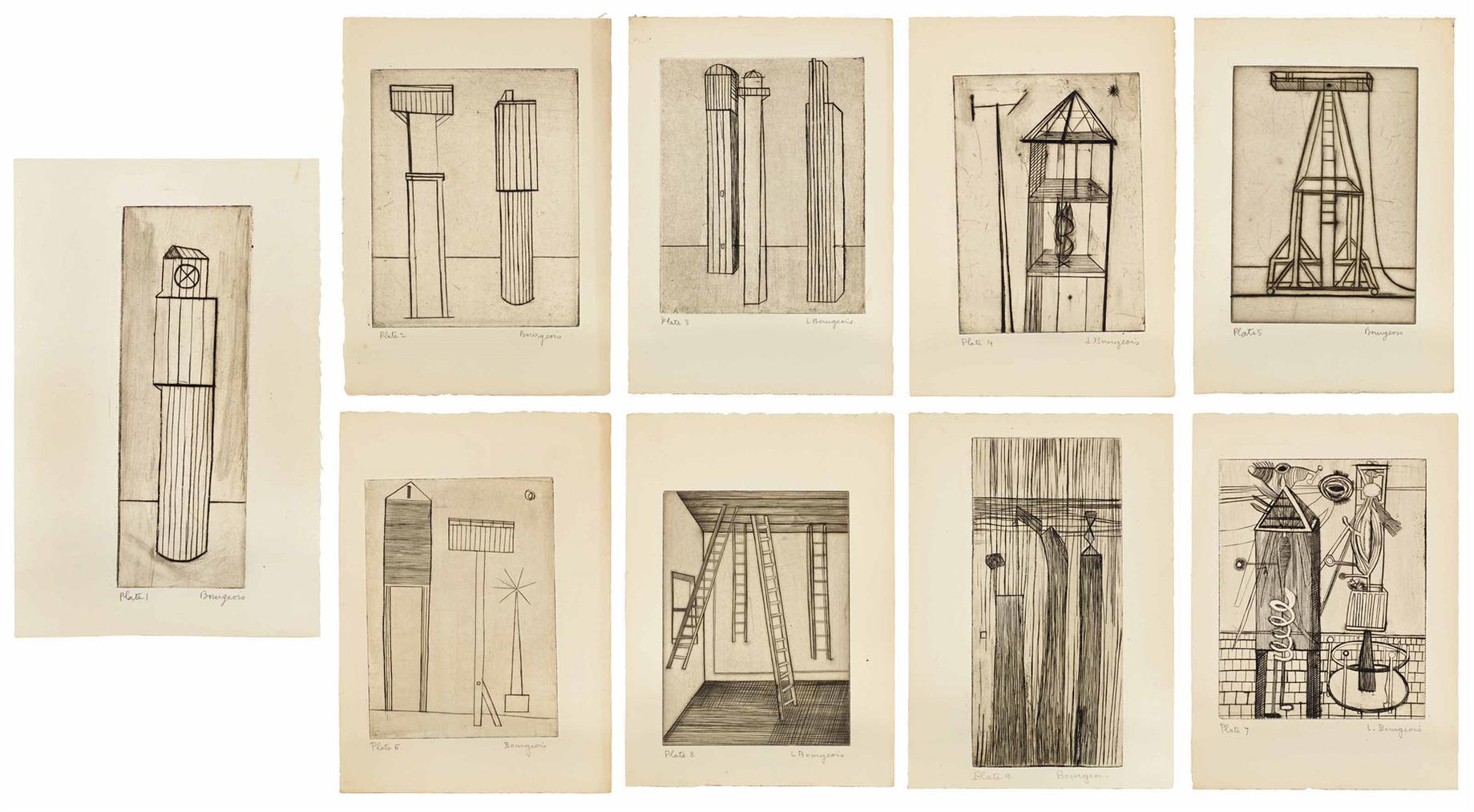 Louise Bourgeois-He Disappeared Into Complete Silence, Gemor Press, New York, 1947-
