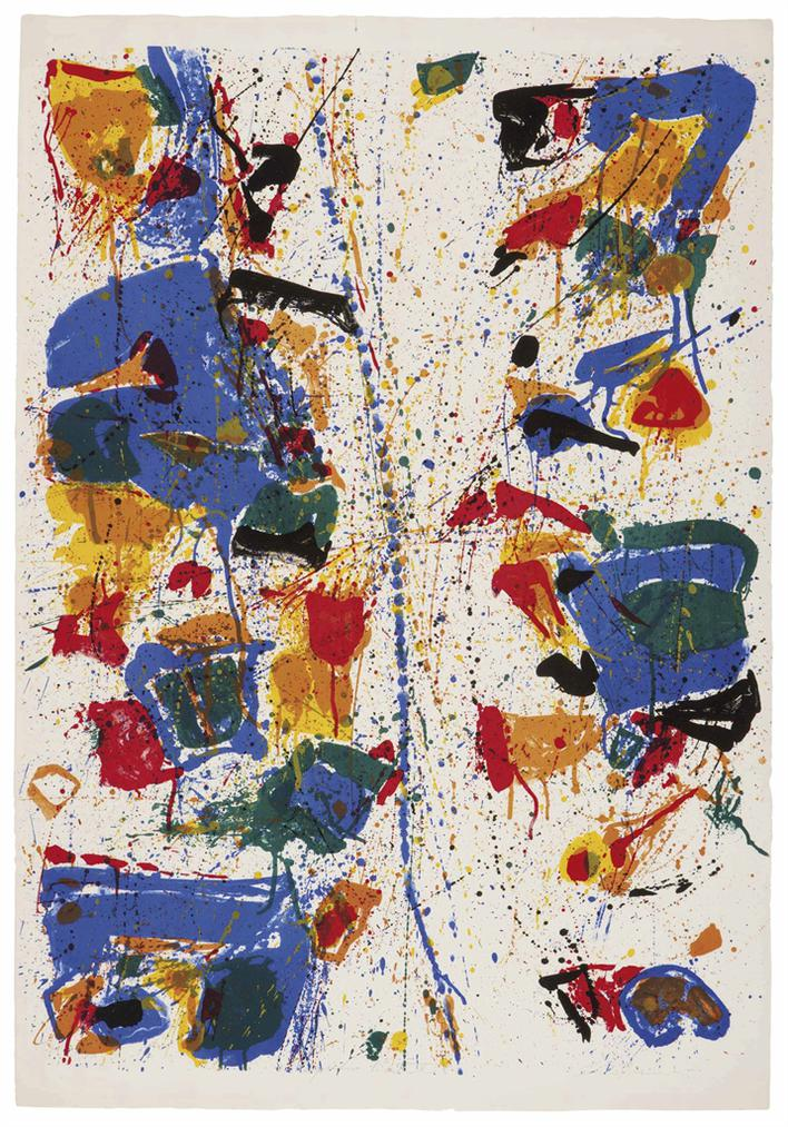 Sam Francis-The White Line-1960