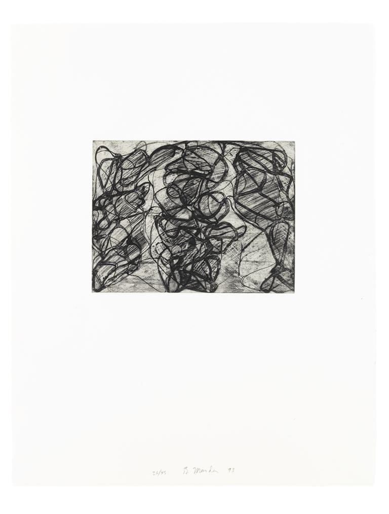 Brice Marden-After Botticelli 1-5-1993