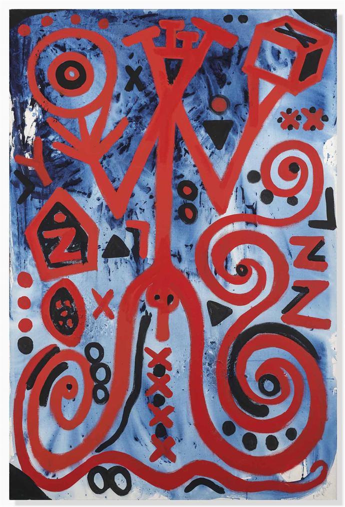 A.R. Penck-General A, B, C-1998
